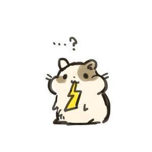 小仓鼠卡通qq头像图片图片