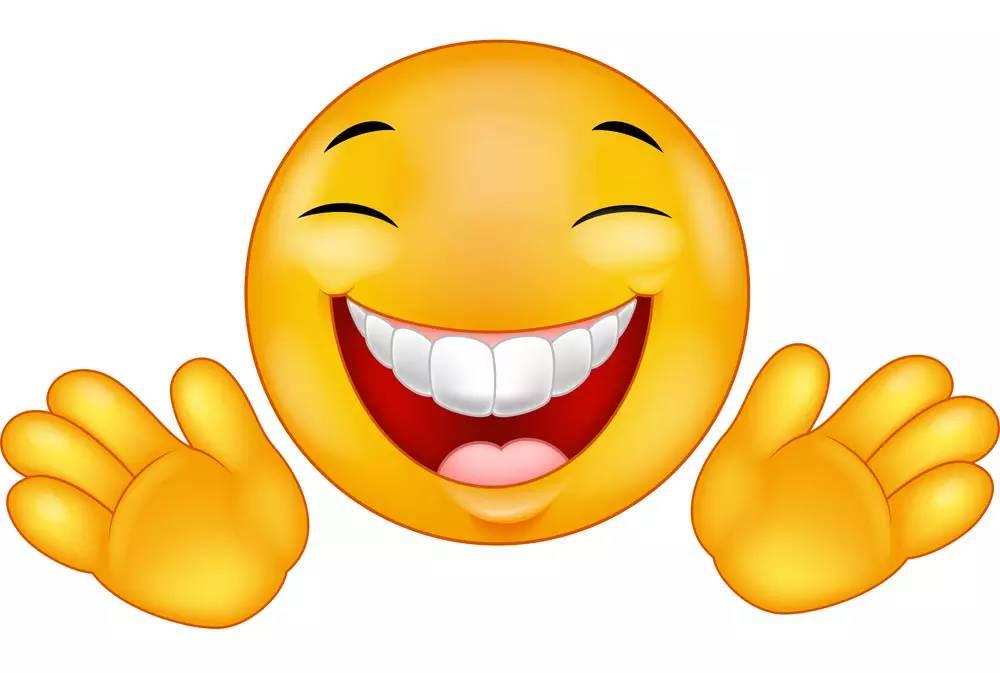 开心的卡通表情图片图片