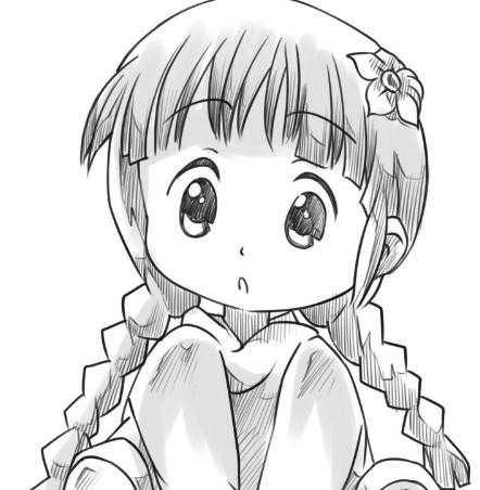 动漫人物图片可爱女孩