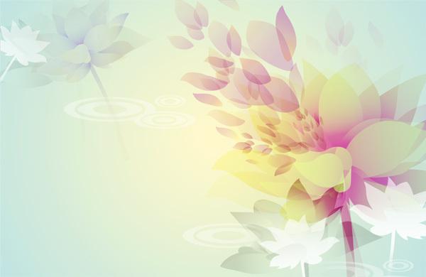 花朵唯美淡雅小清新
