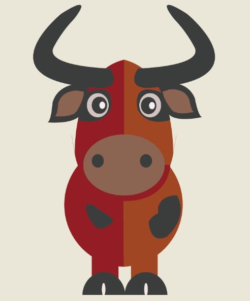 萌萌哒小动物卡通图片