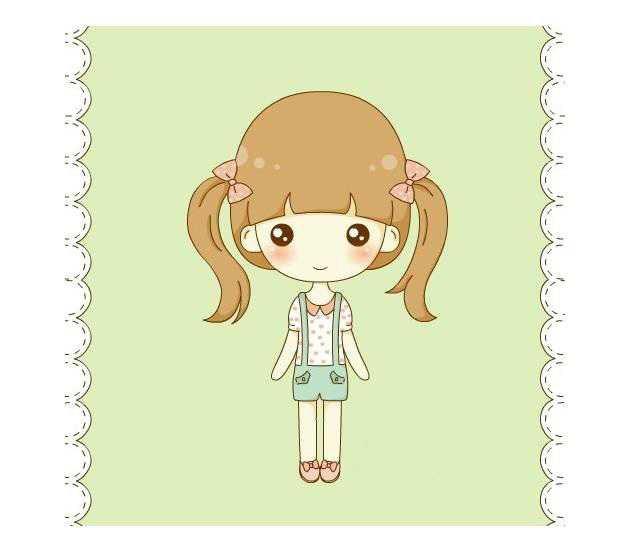 现在跟随表白句网小编一起来欣赏卡通女孩可爱萌吧,希望你喜欢.