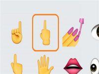 手指表情图案