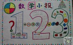 数字编码手抄报手画(9张)_手抄报_表白图片网