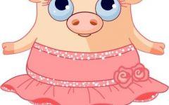 可爱猪的图片大全