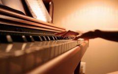 钢琴图片唯美