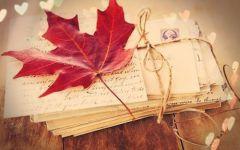 秋天唯美意境图片