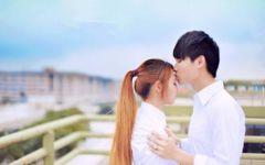 情侣图片唯美清新一对韩版