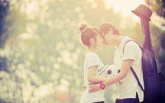 甜蜜情侣图片