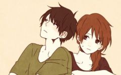 卡通动漫情侣图片