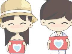 情侣图片卡通可爱