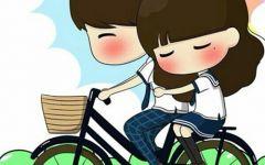 甜蜜情侣卡通图片
