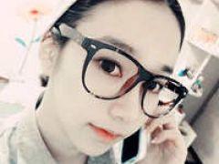 美女戴眼镜图片qq头像