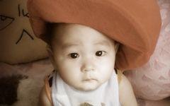 婴儿照片可爱