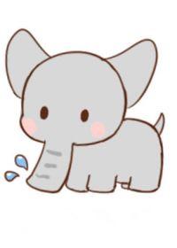 卡通小猪简笔画图可爱