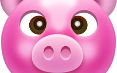 卡通头像猪头图片可爱