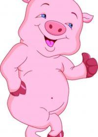 图片猪可爱卡通图片