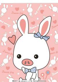 可爱小猪猪头头像