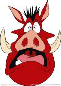 猪头图片可爱卡通形象