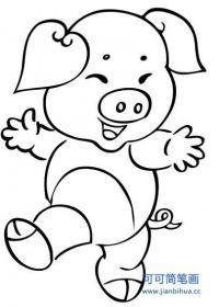 可爱小猪头头像
