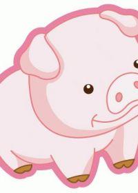 猪头卡通图片大全可爱