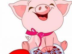 猪可爱萌头像大全