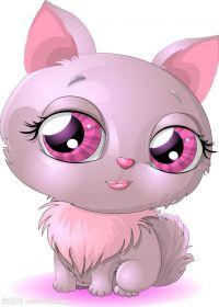 动漫猫的照片可爱