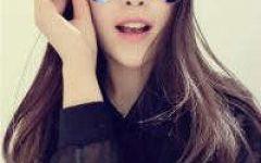 美女戴眼镜图片qq头像可爱