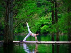 瑜伽图片唯美壁纸