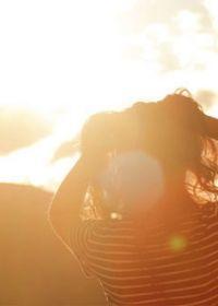 阳光照片唯美温暖