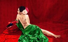 情侣古装艺术照