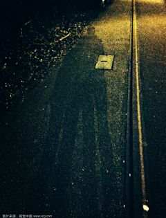 情侣夜晚影子真实图