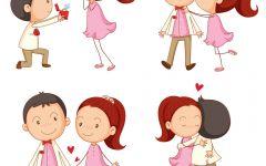 情侣卡通图像大全