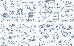带数学公式的情侣头像
