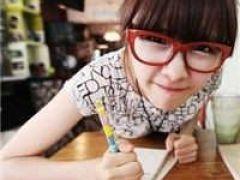 美女戴眼镜图片qq头像可爱头像