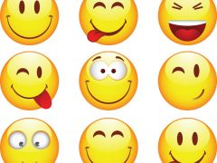 qq微笑表情图片