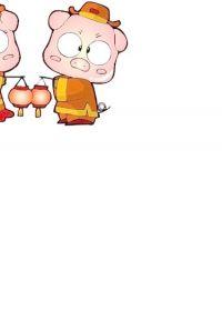 猪的图片卡通可爱