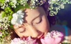 女人微信头像鲜花图片