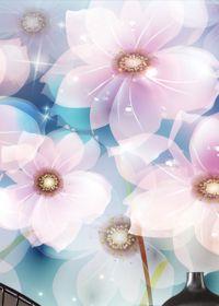 简约唯美图片花朵