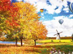 秋天图片景色唯美图片