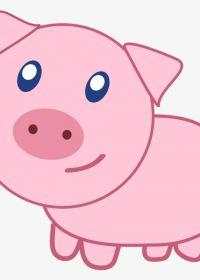 小猪头像图片大全可爱