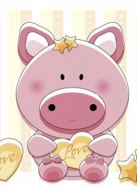 可爱小猪图片高清
