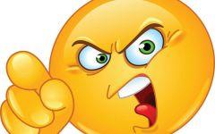 可爱的愤怒表情图片