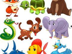 可爱卡通动物图片头像