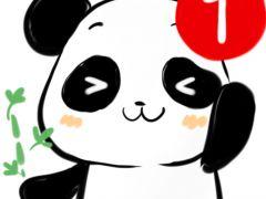 可爱熊猫微信头像图片大全