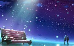 情侣星空壁纸图片