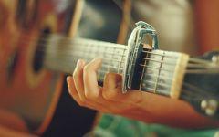 吉他唯美图片意境图片