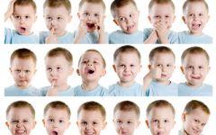 幼儿情绪表情图片大全