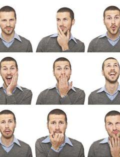 面部表情训练图片大全