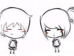 动漫头像情侣黑白